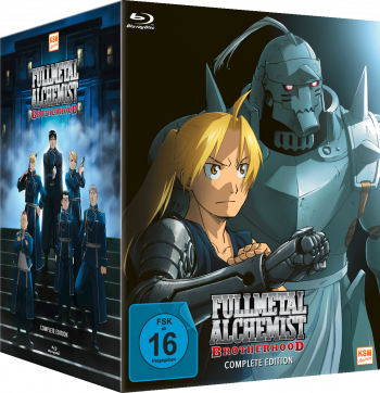 Fullmetal Alchemist: Brotherhood - Complete Edition (Episode 01-64 + OVA) [Blu-ray]