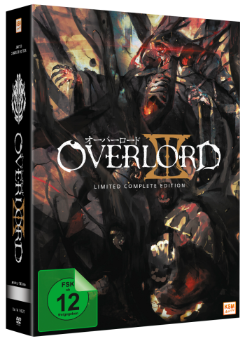 Overlord -  Limited Complete Edition Staffel 3 (13 Episoden) [DVD]