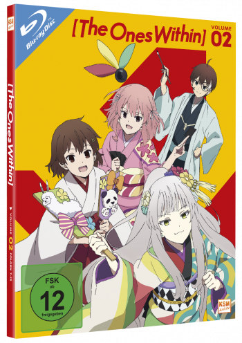 The Ones Within - Volume 2: Episode 07-12+OVA [Blu-ray]