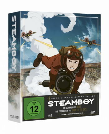 Steamboy - Limited Collector's Edition [Blu-ray + 2 DVDs]