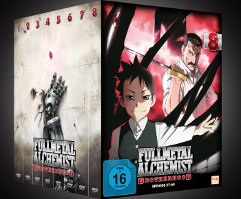 Fullmetal Alchemist: Brotherhood - Volume 3 Folge 17-24 (Limited Edtion)