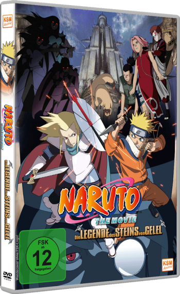 Naruto - The Movie 2: Die Legende des Steins von Gelel