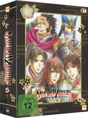 Samurai Warriors Episode 1-6 (im Sammelschuber)