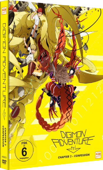 Digimon Adventure tri. Chapter 3 - Confession [DVD]