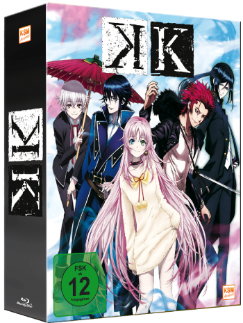 K Project - Volume 1: Episode 01-05 im Sammelschuber [Blu-ray]