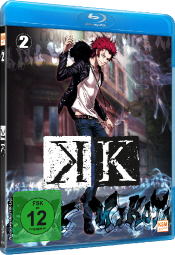 K Project - Volume 2: Episode 06 - 09 [Blu-ray]