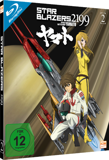 Star Blazers 2199 - Space Battleship Yamato - Volume 2: Episode 07-11 [Blu-ray]