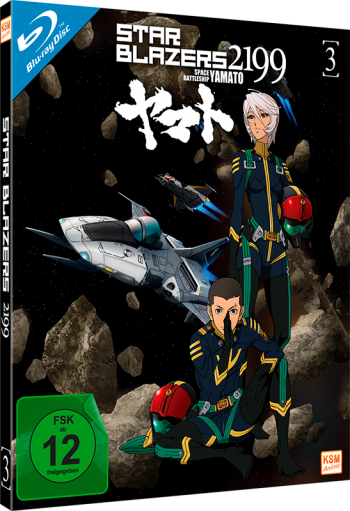 Star Blazers 2199 - Space Battleship Yamato - Volume 3: Episode 12-16 [Blu-ray]