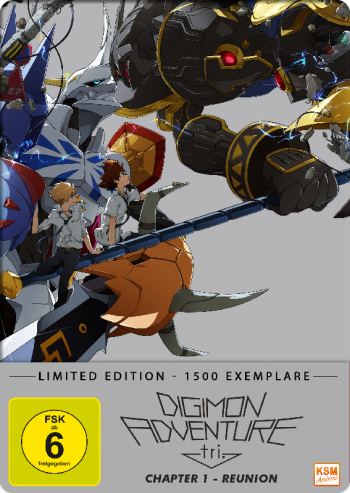 Digimon Adventure tri. Chapter 1 - Reunion [DVD] im FuturePak