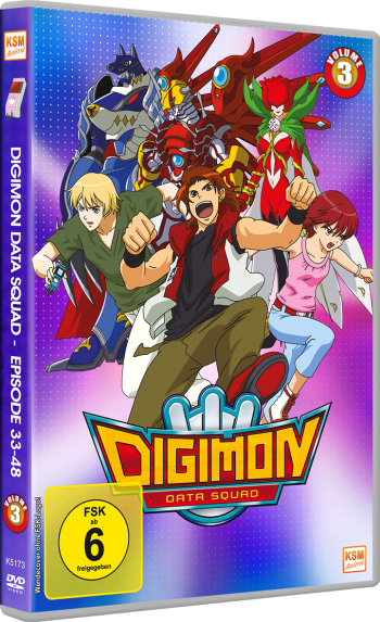 Digimon Data Squad - Volume 3: Episode 33-48