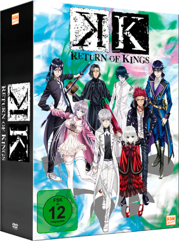 K - Return of Kings - Volume 1: Episode 01-05 im Schuber