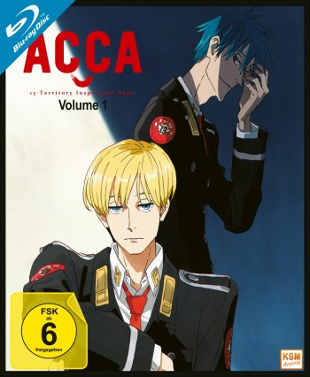 ACCA: 13 Territory Inspection Dept. - Volume 1: Episode 01-04 [Blu-ray]