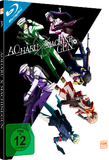 Aoharu X Machinegun - Volume 3: Episode 09-13 [Blu-ray]