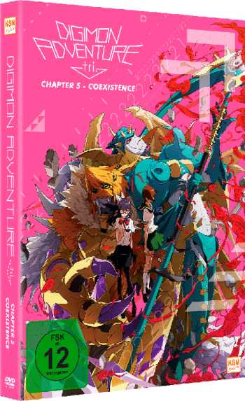 Digimon Adventure tri. Chapter 5 - Coexistence [DVD]