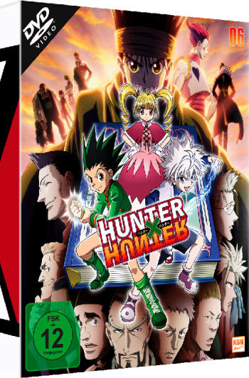 HUNTERxHUNTER - Volume 6: Episode 59-67 [DVD]
