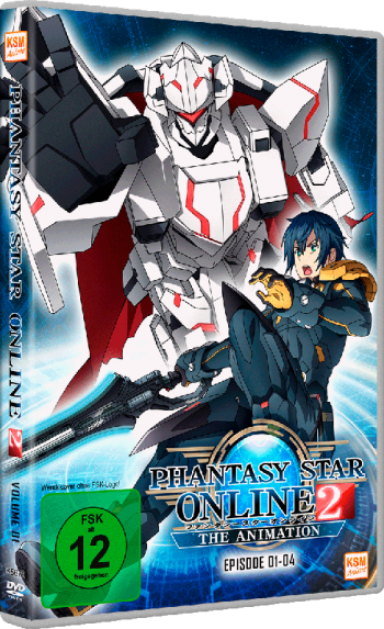 Phantasy Star Online 2 - Volume 1: Episode 01-04 im Schuber [DVD]