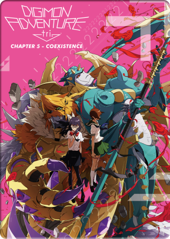 Digimon Adventure tri. Chapter 5 - Coexistence [DVD] im FuturePak