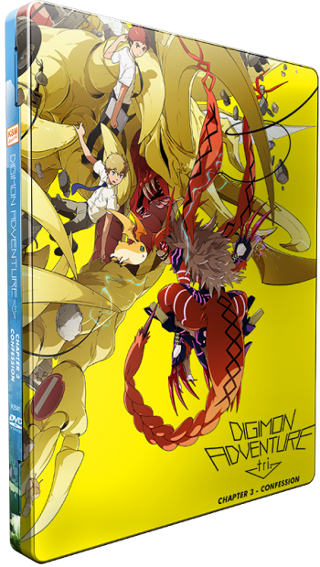Digimon Adventure tri. Bundle - Reunion, Determination, Confession, Lost -  Chapter 1, 2, 3 + 4 [DVD] im Future Pack