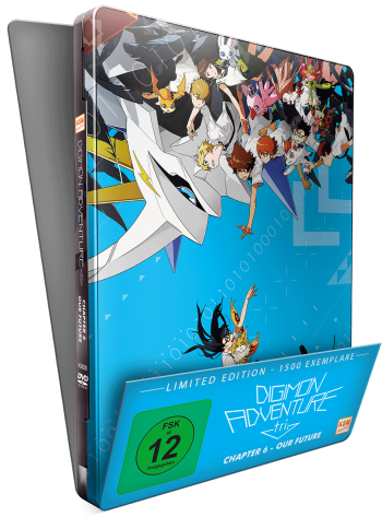 Digimon Adventure tri. Chapter 6 - Our Future [DVD] im FuturePak