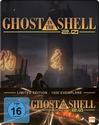 Ghost in the Shell 2.0 [Blu-ray] im FuturePak