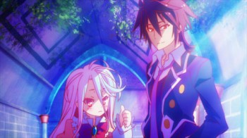 No Game No Life - Volume 1: Episode 01-04 [Blu-ray)