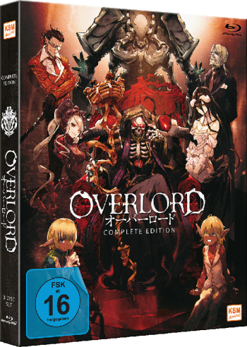 Overlord - Bundle Edition: The Movie 1&2 + Complete Edition [Blu-ray]