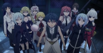 Trinity Seven - The Movie - Eternity Library and Alchemic Girl [Blu-ray]
