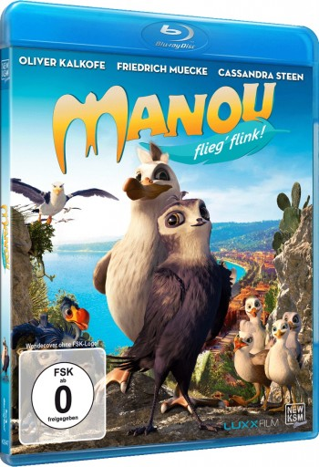 Manou - Flieg' flink! [Blu-ray]