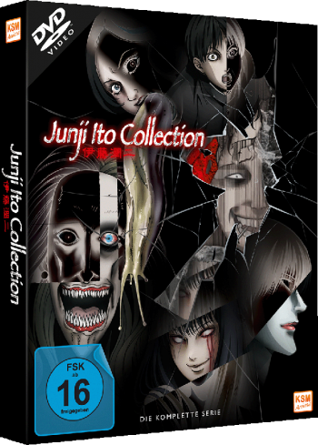 Junji Ito Collection - Gesamtedition: Episode 01-13 [DVD]