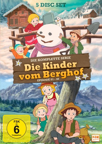 Die Kinder vom Berghof - Gesamtedition: Episode 01-48