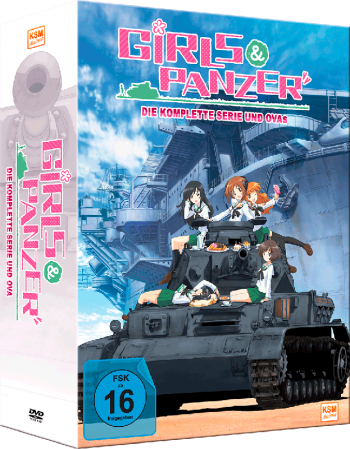 Girls und Panzer - Gesamtedition Staffel 1 + OVA [DVD]