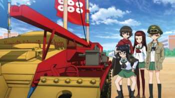 Girls und Panzer - Gesamtedition Staffel 1 + OVA [Blu-ray]