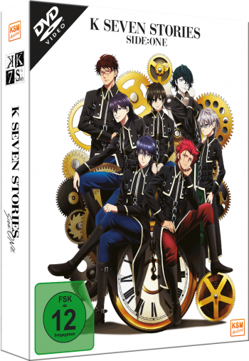 K - Seven Stories - Side:One (Movie 1-3) [DVD]