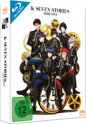 K - Seven Stories - Side:One (Movie 1-3) [Blu-ray]