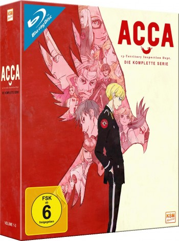 ACCA - Gesamtedition: Episode 01-12 [Blu-ray]