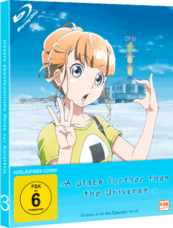 A place further than the Universe - Volume 3: Episode 10-13 [Blu-ray]