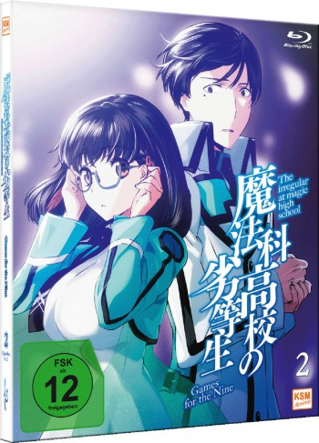 The Irregular at Magic High School Vol.2 - Games for the Nine (Ep. 8-12) [Blu-ray]