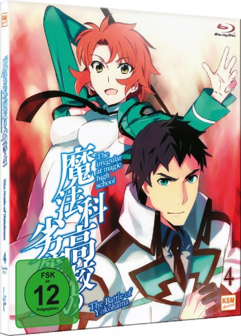 The Irregular at Magic High School Vol.4 - The Battle of Yokohama (Ep. 19-22) [Blu-ray]