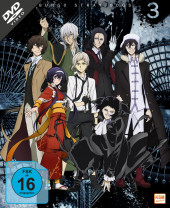 Bungo Stray Dogs - Gesamtedition Staffel 3: Episode 01-12 [DVD]