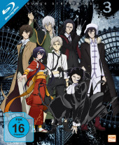 Bungo Stray Dogs - Gesamtedition Staffel 3: Episode 01-12 [Blu-ray]