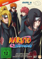 Naruto Shippuden - Staffel 14 Box 1: Episode 516-528 (uncut) [DVD]