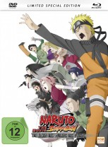 Naruto Shippuden - The Movie 3: Die Erben des Willens des Feuers (2009) - Mediabook [DVD + Blu-ray]