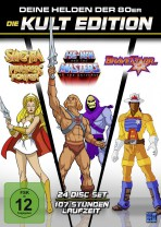 He-Man Masters of the Universe + She-Ra + BraveStarr - Die 80er Jahre Kult Edition – Limitiert (24 Disc Set)