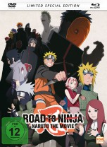 Naruto Shippuden - The Movie 6: Road to Ninja (2012) - Mediabook - Limited Edition
