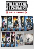 Fullmetal Alchemist: Brotherhood - Fan Edition - Volume 1-8 (64 Folgen) + OVA 1-4 [DVD]