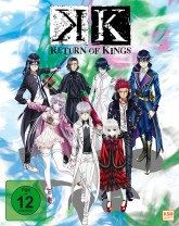 K - Return of Kings - Volume 1: Episode 01-05 im Schuber [Blu-ray]