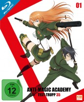 Anti Magic Academy - Test-Trupp 35 - Volume 1: Episode 01-04 [Blu-ray]