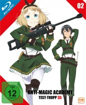 Anti-Magic Academy - Test-Trupp 35 - Volume 2: Episode 05-08 [Blu-ray]