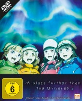 A Place Further than the Universe - Volume 1: Episode 01-05 [DVD]