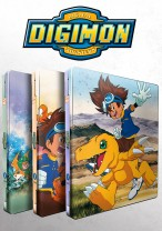 Digimon  Adventure Bundle - Staffel 1 - Volume 1-3: Episode 01-54 [Blu-ray] im FuturePak